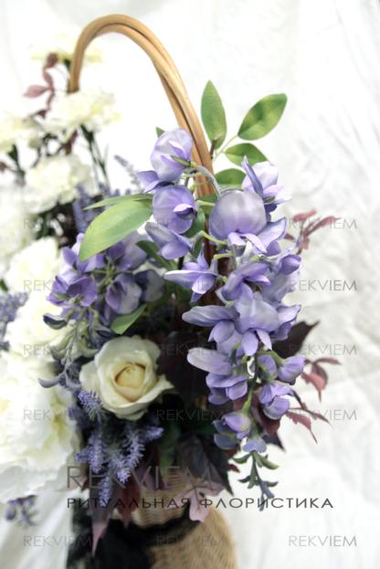 ритуальные цветы на похороны